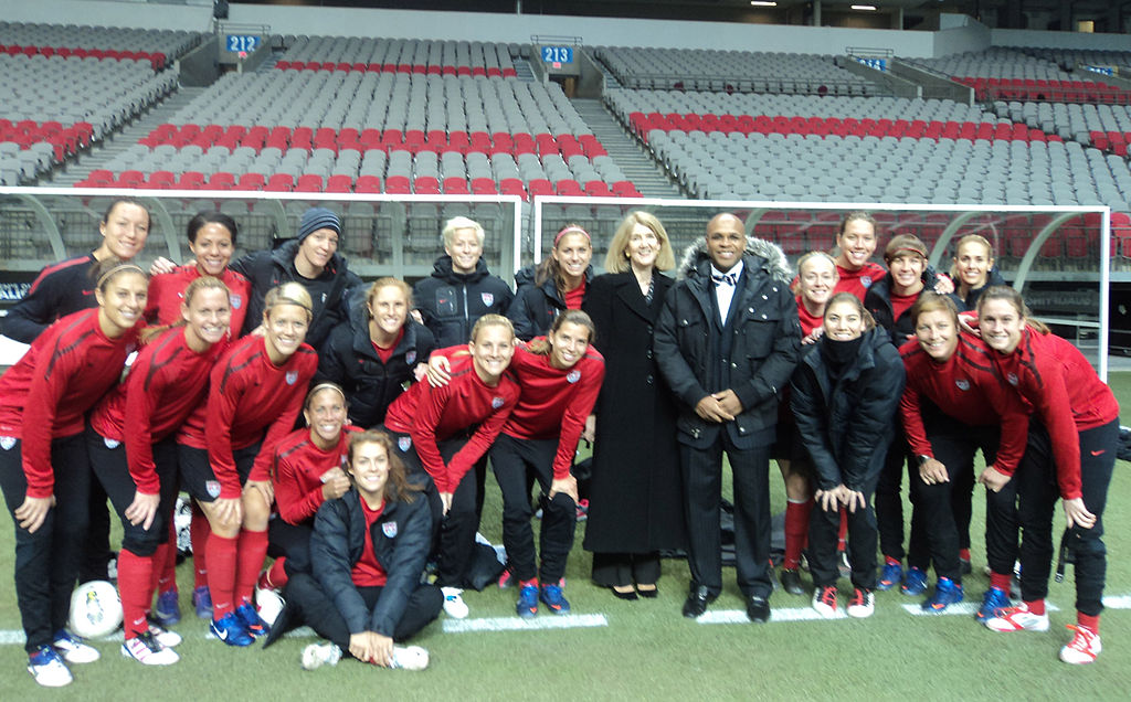 The US women National Team